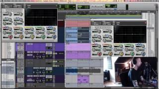 Pro Tools tutorial: Linking Plug-in settings via Mix & Edit Groups
