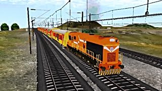 Ratlam India  city photos : Indian Train Simulator - Drive - Custom - Ratlam to Mathura (WDG-3A - Double Decker)