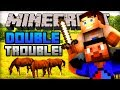 "Minecraft Mini-Game - DOUBLE TROUBLE! w/ Ali-A! - ""MULTI-KILL!"""