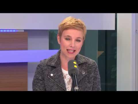 Clémentine Autain mal à l'aise à l'évocation du point 62 du programme de JL Mélenchon