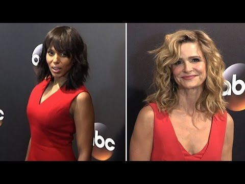 Kerry Washington, Kyra Sedgwick, And More Attending The ABC Upfronts In NYC