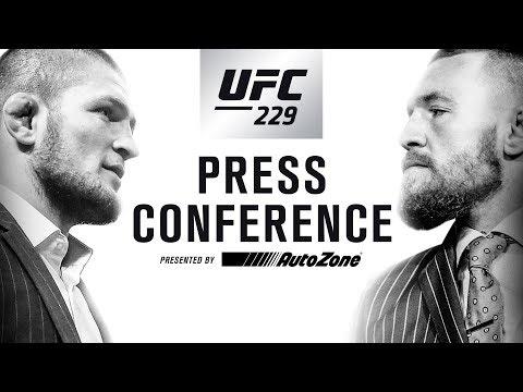 UFC 229 Press Conference: Khabib vs McGregor