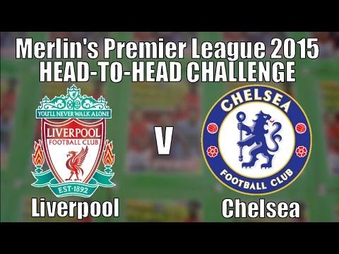 LIVERPOOL V CHELSEA ☆ Topps Merlin's Premier League 2015 Stickers ☆ 8 PACKS CHALLENGE!!!