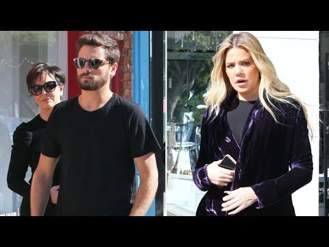 Pregnant Khloe Kardashian Suffers Morning Sickness At KUWTK Filming With Kris And Scott