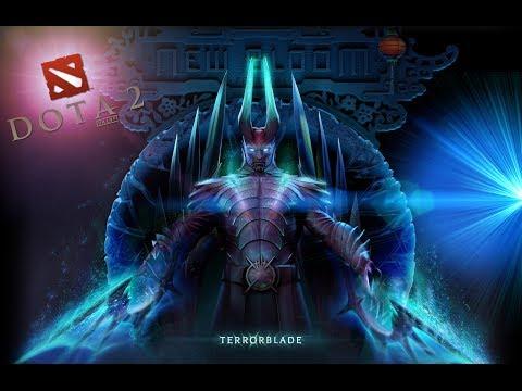 Dota 2 Обзор на нового героя - Terrorblade | ТБ | Soul Keeper | Террор - Новая Имба