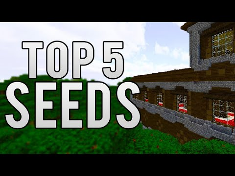 TOP 5 SEEDS FOR MINECRAFT 1.12!