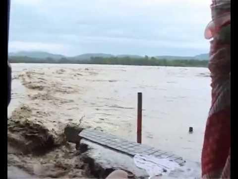 Disastrous Effect Of Flood In Haridwar Uttarakhand ( Original Video ):- prernamurti bharti shriji