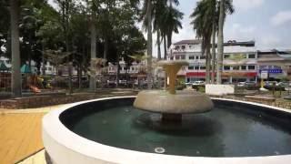 Kluang Malaysia  city images : Malaysia, walking in KLUANG, start - Jalan Dato Rauf, finish - train station