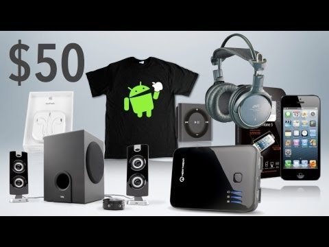 BEST TECH & GEEK GIFTS UNDER $50! (2012 Holiday Gift Guide)