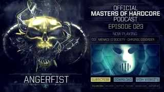 Video Official Masters of Hardcore Podcast 023 by Angerfist MP3, 3GP, MP4, WEBM, AVI, FLV November 2017