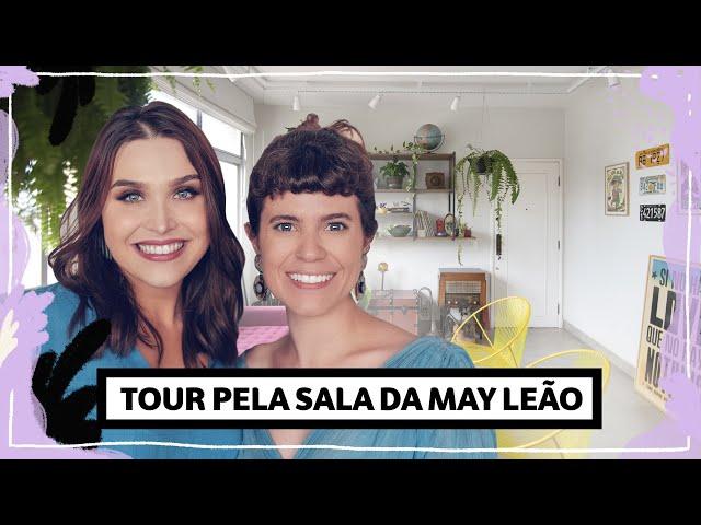 Chata visita: May Leão e sua sala cheia de achados! Tour pela sala | Lu Ferreira | Chata de Galocha - Chata de Galocha