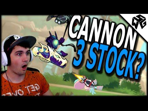 Cannon 3 Stock?! - Brawlhalla Diamond Ranked Isaiah 1v1