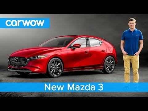 NEW Mazda 3 2019 revealed - see why it's the most stylish small car ever!