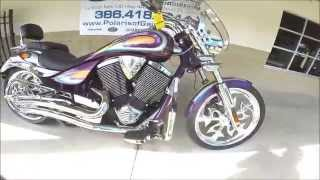 7. 2008 Victory Motorcycles Ness Signature Jackpot