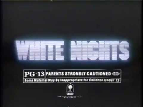 White Nights 1985 TV Spot