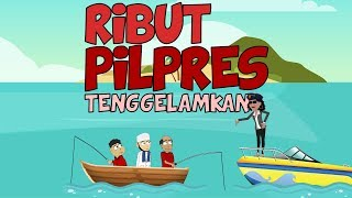 Video RIBUT PILPRES DI TENGGELAMKAN | Animasi Kartun Lucu | Warganet Life MP3, 3GP, MP4, WEBM, AVI, FLV Januari 2019