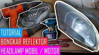 Video Cara Bongkar Reflektor Lampu Mobil menggunakan Heat Gun MP3, 3GP, MP4, WEBM, AVI, FLV Oktober 2018