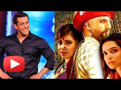 Salman Khan's PRICELESS REACTION On Ranveer Deepik