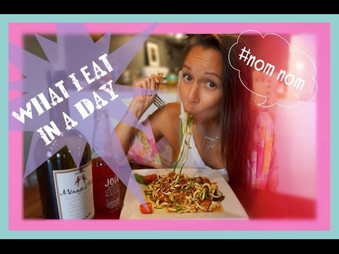 WHAT I EAT IN A DAY #1   HEALTHY & HAPPY