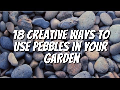 How To Use Pebbles In Your Garden : Here Are Some Creative Ideas