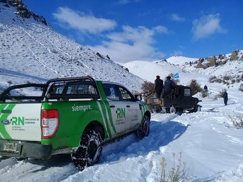 Comisiones de fomento y Municipios destacan el apoyo de la Provincia ante las intensas nevadas