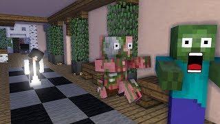 Video Monster School : Grandpa and Bent Neck Lady - Minecraft Animation MP3, 3GP, MP4, WEBM, AVI, FLV Februari 2019