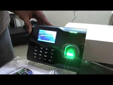 ZK U160 biometric time attendance fingerprint reader