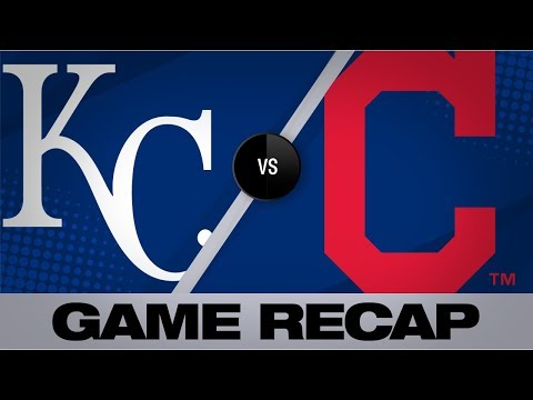 Video: Lindor homers as Indians defeat Royals, 4-1   Royals-Indians Game Highlights 8/23/19
