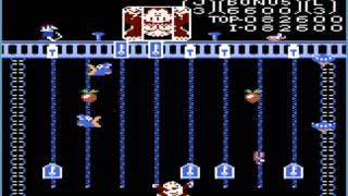Donkey Kong Jr: Standard (Atari 7800 Emulated) by oyamafamily