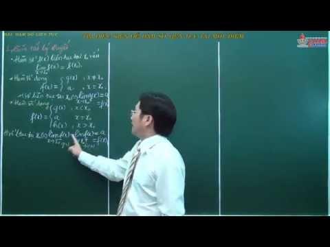 Video giải tích 11 - Hàm số liên tục - Tìm điều kiện để hàm số liên tục tại một điểm