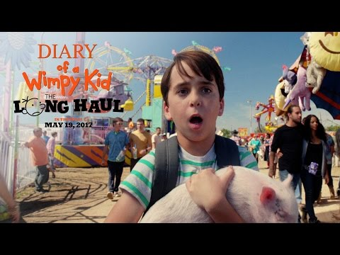 Diary of a Wimpy Kid: The Long Haul (Featurette 'One Fine Swine')