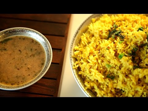 Hyderabadi Khichdi Recipe | Hyderabadi Khatta Recipe | Masala Trails With Smita Deo