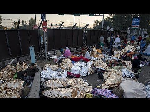 Εγκλωβισμένοι πρόσφυγες στη μεθόριο Σερβίας-Ουγγαρίας