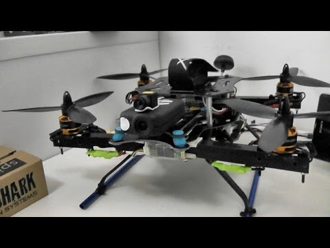 Home built Quadcopter flight testing with MultiWii 2.5 SE (видео)