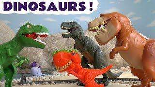 Video Dinosaurs with Thomas and Friends Toy Trains and the funny Funlings TT4U MP3, 3GP, MP4, WEBM, AVI, FLV Oktober 2018