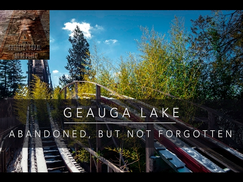 Geauga Lake is abandoned and it's sad!