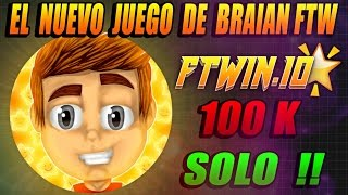 Video FTWIN.IO l el nuevo juego de braian ftw l TAKEOVER 100K GG MP3, 3GP, MP4, WEBM, AVI, FLV Mei 2019