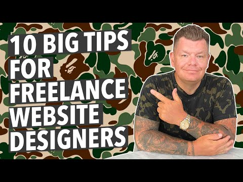 ⭐️10 TIPS FOR FREELANCE WEB DESIGNERS⭐️