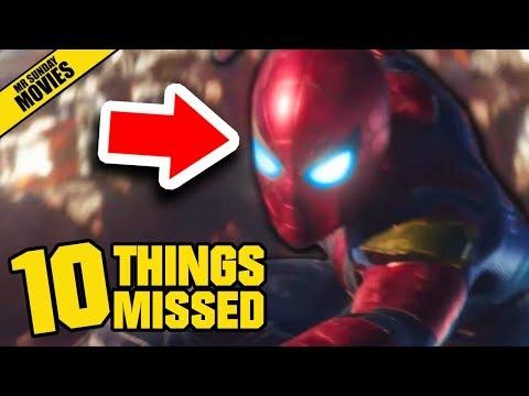 AVENGERS: INFINITY WAR Official Trailer Breakdown - Things Missed & Easter Eggs (Marvel Studios)