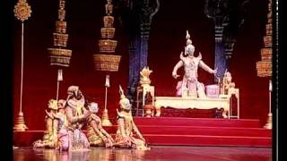 Khon: Classical Thai Dance Drama Part 3 Of 11 โขน พรหมาศ