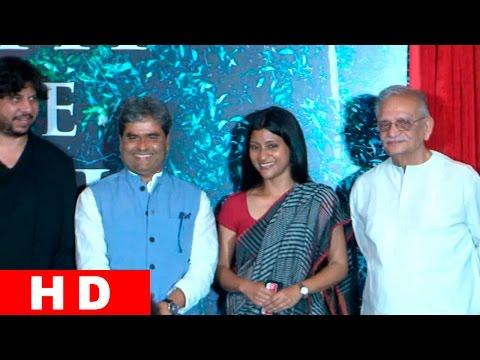 Konkona Sen Sharma, Gulzar,Vishal Bhardwaj At Launch Of Upcoming Film 'A Death In The Gunj'