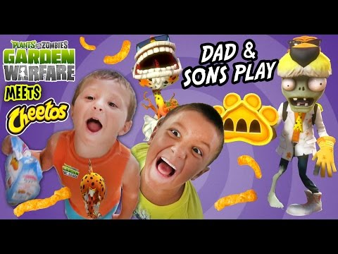 dad - FACE CAM ALERT! Thanks to a bunch of Teevers, we found out about the PVZEETOS! :) Plants vs. Zombies and Cheetos team up to bring you the Chester Chomper & Dr. Chester DLC Characters. Free...