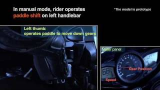 6. New technology: Honda Dual Clutch Automatic Transmission for Motorcycles