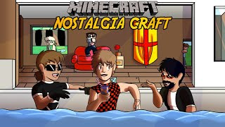 Nostalgia Craft #4 w/Bajan Canadian ft. CaptainSparklez (Creeper Aw Man Memes, Song Parodies, etc.)