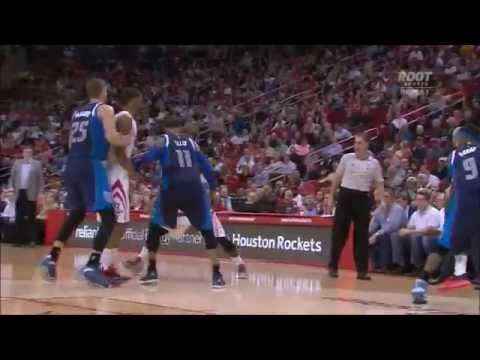 Patrick Beverley burns Chandler Parsons, lets him hear it