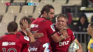 Crusaders v Bulls Rd.6 2018 Super Rugby Video Highlights