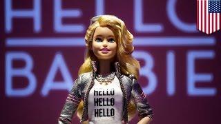 会話ができるバービー人形、個人情報保護で物議