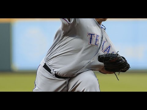 Colon perfect through 6 innings for Rangers vs Astros