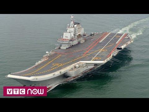 Hàng chục tàu chiến Trung Quốc kéo đến Biển Đông | VTC1 - Thời lượng: 40 giây.