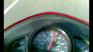 6. 2006 Kymco Agility 125 - 0 to 110 km/h